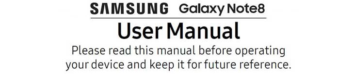 galaxy note 8 manual