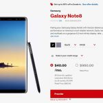 Verizon Galaxy Note 8 Partnership to Offer 50 Percent Off