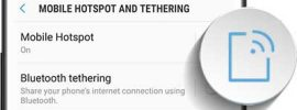 Samsung Galaxy Note 8 Hotspot and Tethering Steps